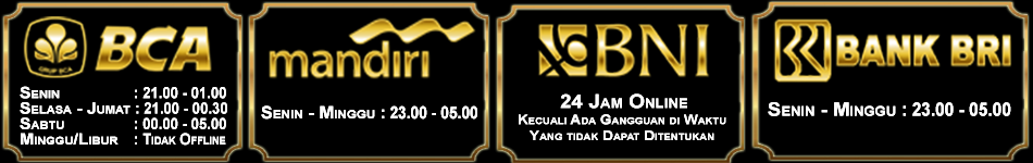 Jadwal Bank Momopoker Online Indonesia
