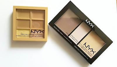 palette Nyx concealer e countoring