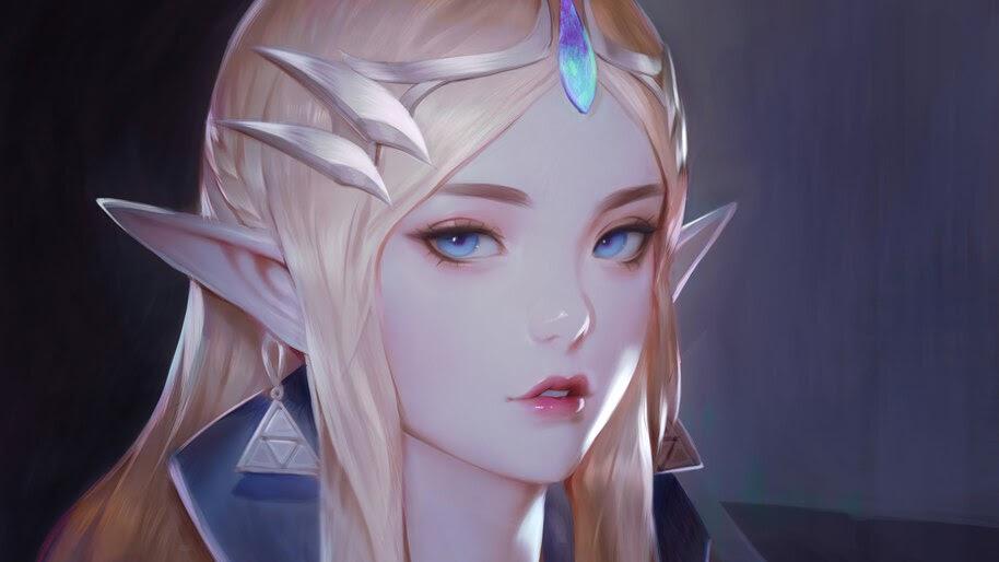 Princess Zelda, TLOZ Breath of the Wild, 4K, #4.3153