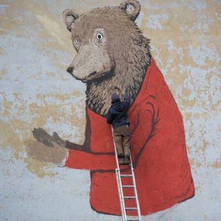 Уличный художник. Zeh Palito