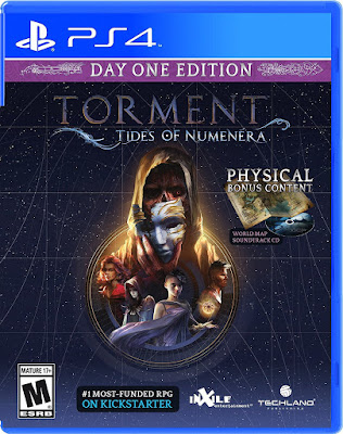 Torment Tides of Numenera Game Cover