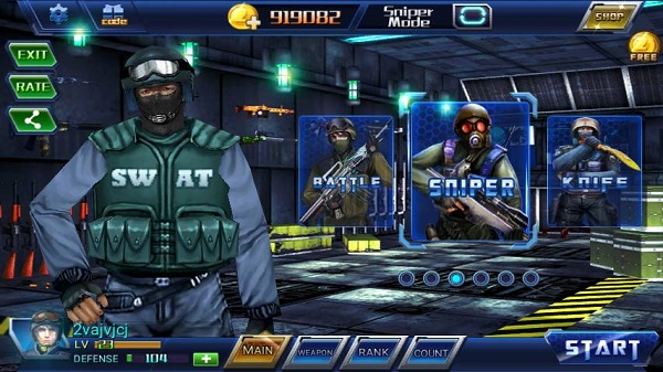 Download All Strike 3D MOD APK for Andoid Unlimited Money