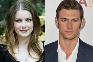 Alex Pettyfer e Rachel Hurd-Wood em Star Wars