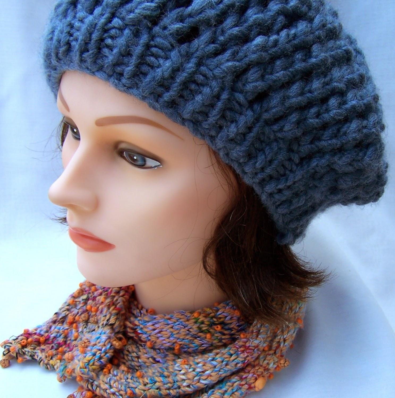 Yepyeni Bayan Örgü Şapka Modelleri
