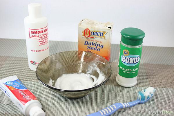 Mặt nạ trị mụn trứng cá bằng baking soda và Oxy già