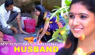 Sathya's husband is a boon for a working woman. Kudos 21st Century husband!