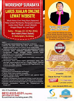 Workshop Laris Jualan Online Lewat Website