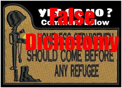 The Quixotic Iconoclast: Veterans vs. Refugees: A False ...