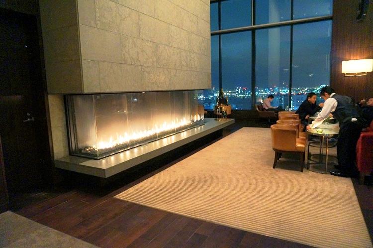 Conrad Tokyo, Japan, lounge area, Euriental