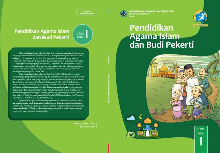 Download Gratis Buku Guru dan Buku Siswa Pendidikan Agama Islam dan Budi Pekerti SD Kelas 1 Kurikulum 2013 Format PDF