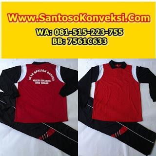Jual Kaos Seragam Olahraga SMA, SMU dan SMK Terbaru