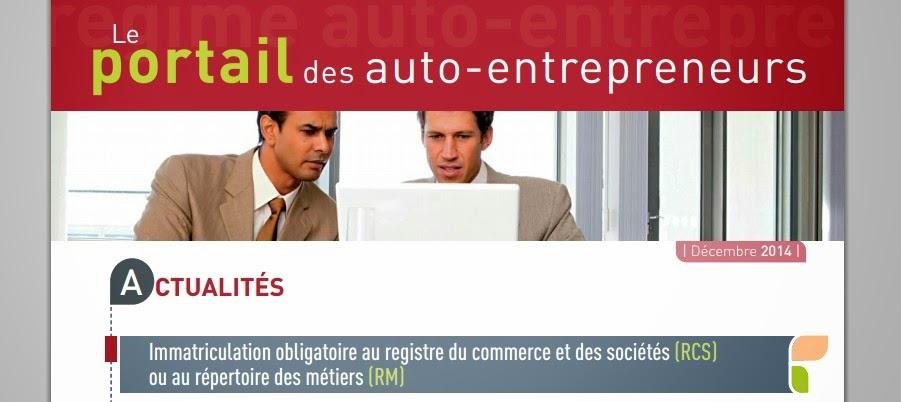 Cr er une micro entreprise devenir auto entrepreneur - Immatriculation chambre de commerce ...