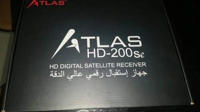 تحديث جديد لجهاز ATLAS 200S HD B124 (عودة القنوات الفرنسية)