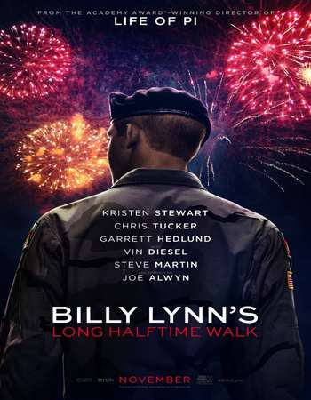Poster Of Billy Lynn's Long Halftime Walk 2016 English 650MB HDTC  Free Download Watch Online 300mb.cc