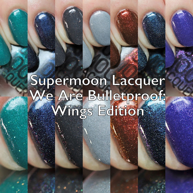 Supermoon Lacquer We Are Bulletproof: Wings Edition