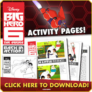 big hero 6 the series activities