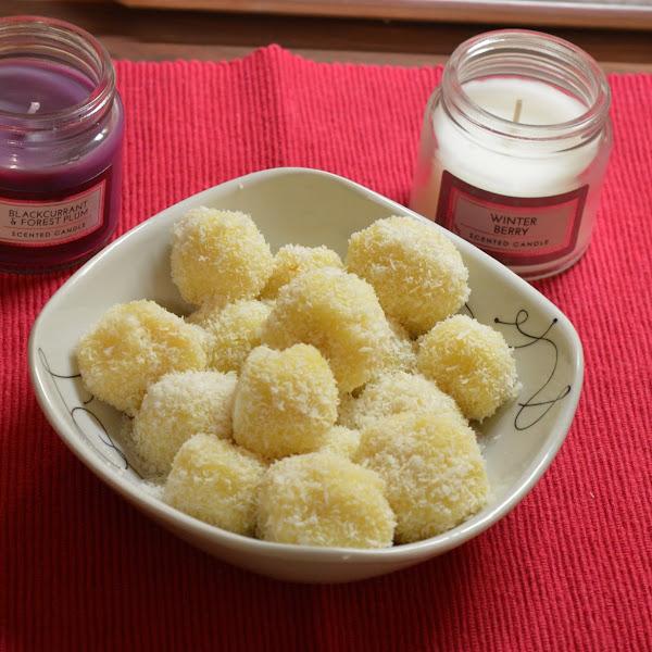 Kokosove kroglice - zelo preprosto, tako dobro
