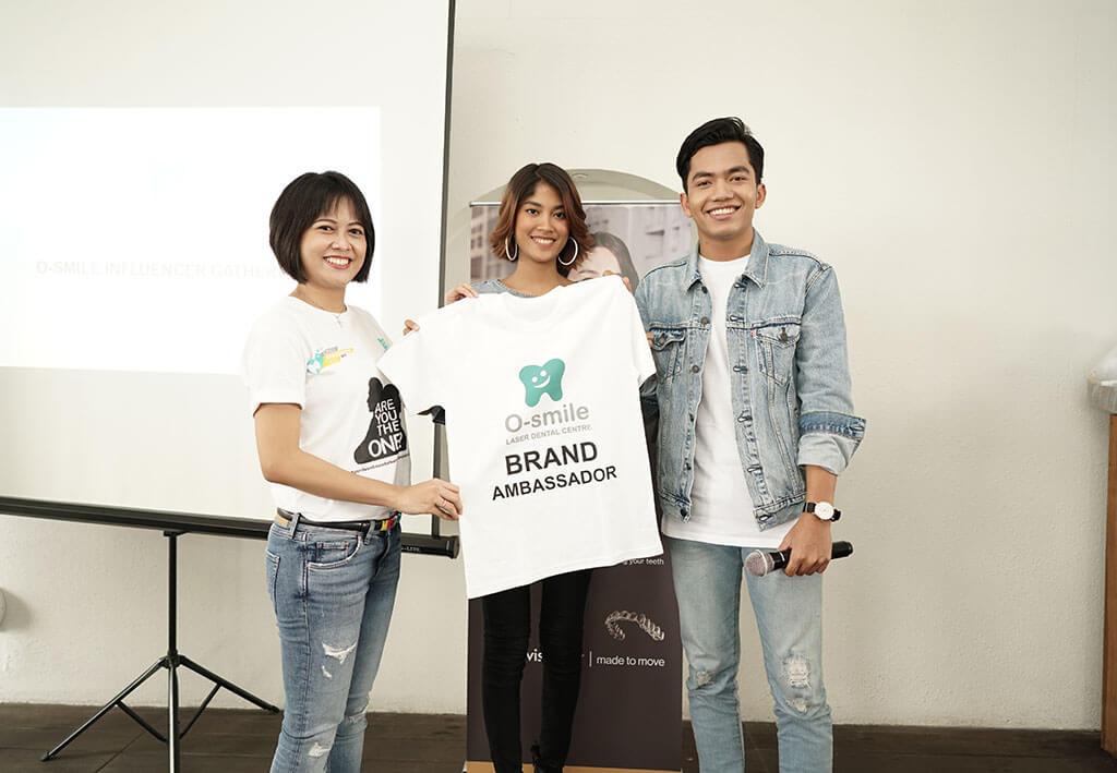 Brand Ambassador O-smile 2018