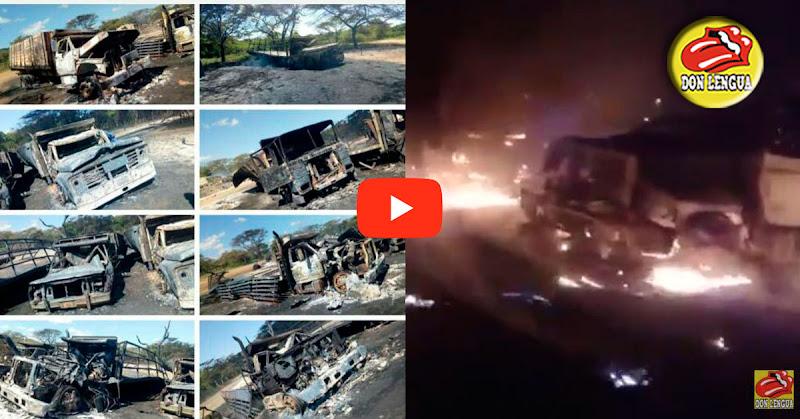 2 muertos y varios heridos tras enfrentamiento en Paraguachón con múltiples explosiones de cisternas