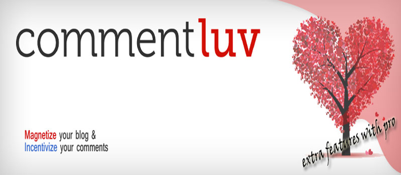 Find CommentLuv and KeywordLuv Blog for commenting