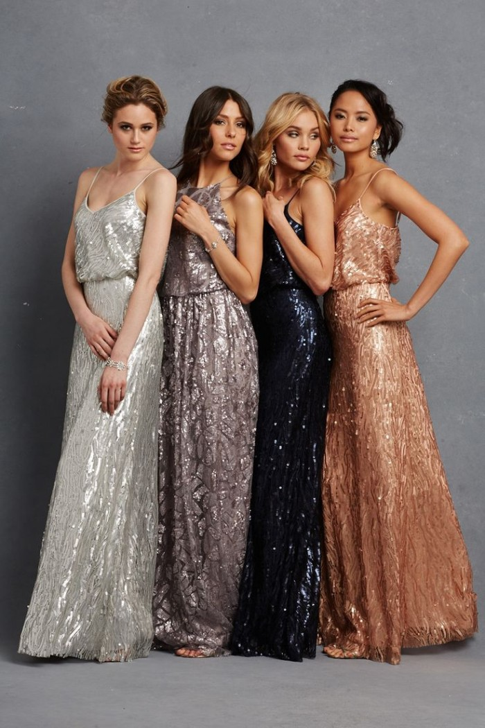 We Have Seen So Many Sparkly Sequins Bridesmaid Dresses On Their Wedding Would You Want To Similar Dress Your Day Not Just For Bridesmaids
