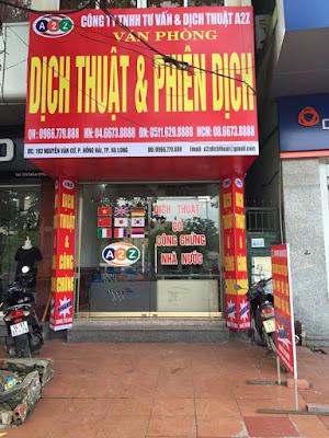 Dịch thuật công chứng tại huyện Tuy Phong chuyên nghiệp giá phải chăng  chất lượng