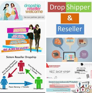 Cara menjadi reseller online shop, daftar jadi reseller online shop
