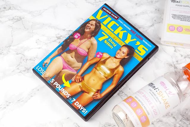 Dino's Beauty Diary - Fitness Fridays - Introducing: Mini V Nutrition by Vicky Pattison*