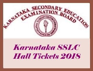 SSLC Hall ticket Number 2018 Karnataka, Karnataka 10th Hall ticket 2018 Download, SSLC Hall tickets 2018, Karnataka 10th Hall ticket
