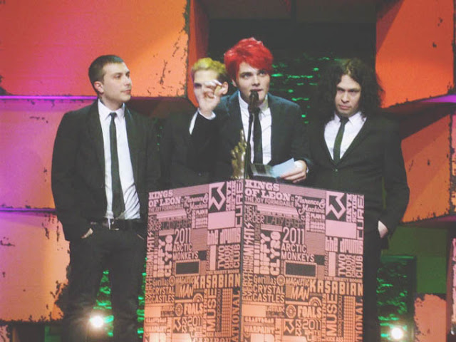 My Chemical Romance NME Awards 2011