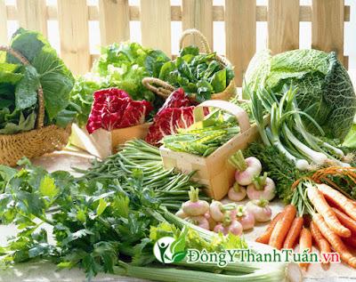 người đau dạ dày nên ăn rau