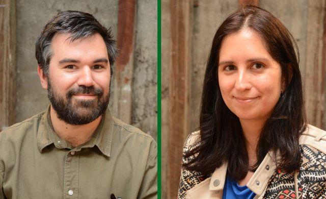 Pablo Marshall y Viviana Ponce de León