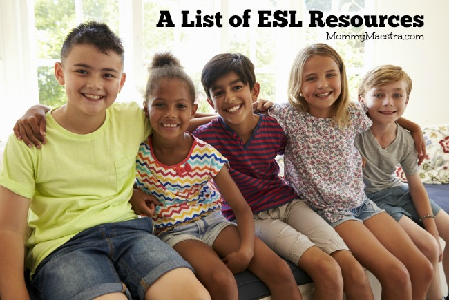A List of ESL Resources