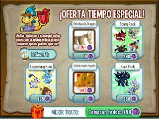 imagen del paquete de ofertas de dragon city