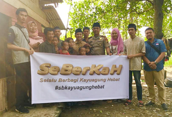 Program SeBerKaH Menyentuh Masyarakat OKI