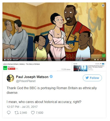 Fake Black Romans in Britain
