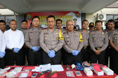 Sebanyak 27 Orang Diamankan Polres Lampung Timur Dalam Dua Pekan
