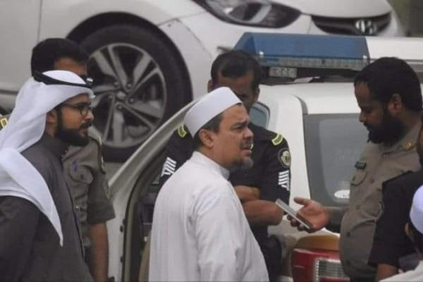 Polisi Saudi Minta HRS Buat Nama yang Dicurigai