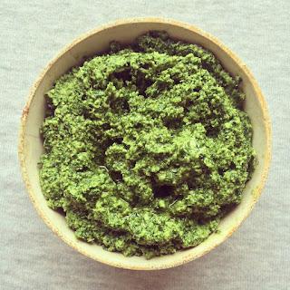 pesto kale noix