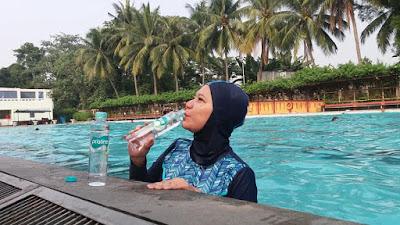 pristine 8 plus dan berenang gaya hidup sehat netral seimbang nurul sufitri blogger perempuan hotel bumi wiyata depok