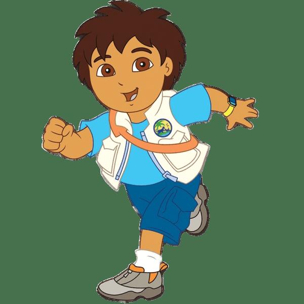 Cartoons Go Diego Go: Cartoon Characters: Go Diego Go (PNG