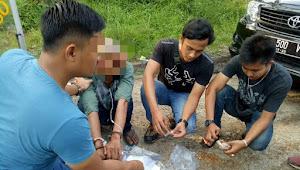 Sat Resnarkoba Ringkus Penjual Bakso Keliling di Desa Pelayang