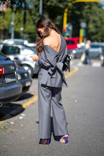 camisas hacia atrás street style