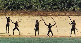 north sentinel island in Hindi
