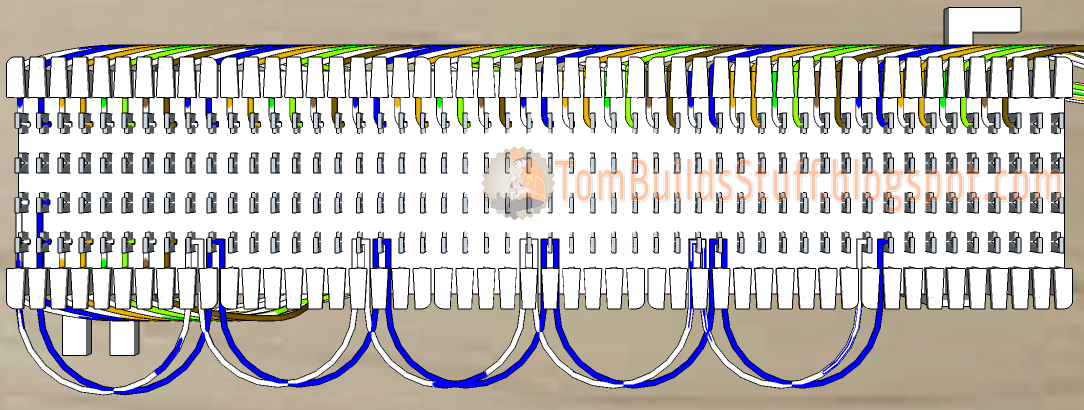 110 Block Wiring Diagram 25 Pair How To Wire A 66 Block