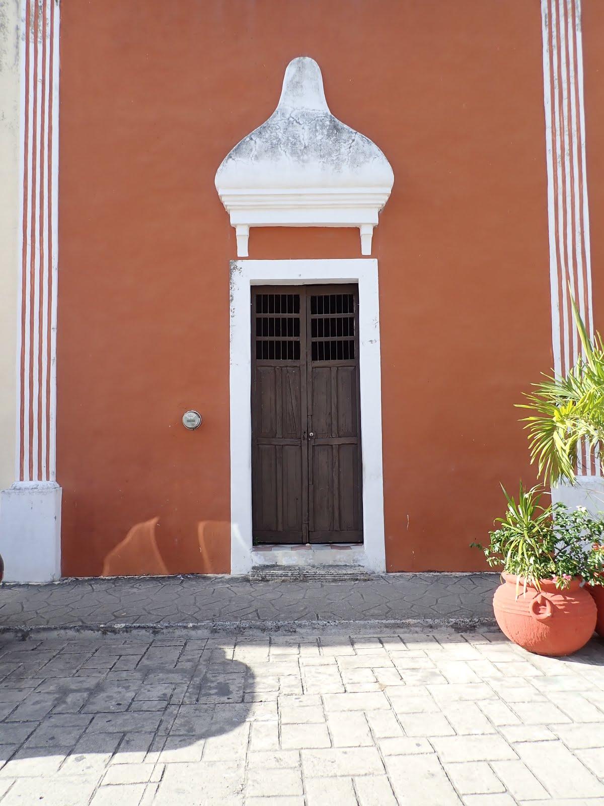 habitation colorée de Valladolid