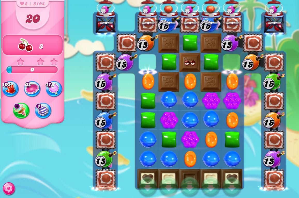 Candy Crush Saga level 5194