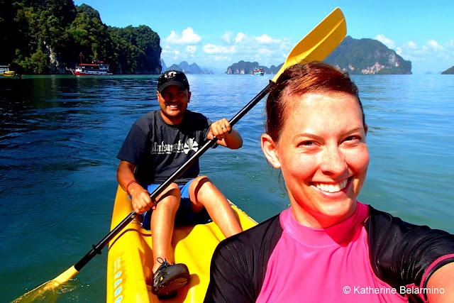 Kayaking Phang Nga Bay Thailand