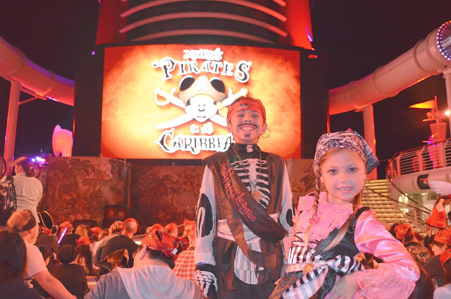Noite Pirata a bordo do Disney Fantasy