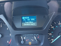 Ford Transit Fuel Filter Error Message